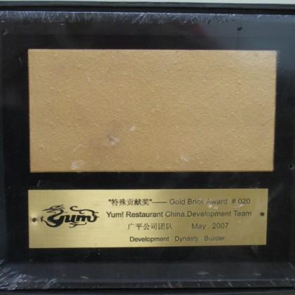百胜2007金砖奖